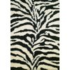 Concord Global 5-ft x 7-ft Black Moderno Area Rug