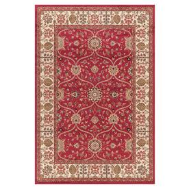 Concord Global 6-ft 7-in x 9-ft 3-in Red Valencia Area Rug