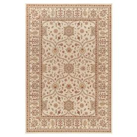 Concord Global Valencia Ivory Rectangular Indoor Woven Oriental Area Rug (Common: 9 x 13; Actual: 111-in W x 150-in L x 9.25-ft Dia)