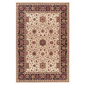 Concord Global 7-ft 10-in x 9-ft 10-in Ivory Valencia Area Rug