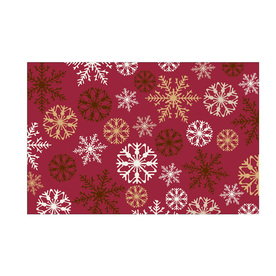 Style Selections Red Rectangular Indoor Tufted Holiday Area Rug (Common: 4 x 6; Actual: 49-in W x 72-in L x 4.08-ft Dia)