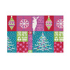 Style Selections Multicolor Rectangular Indoor Tufted Holiday Area Rug (Common: 4 x 6; Actual: 49-in W x 72-in L x 4.08-ft Dia)