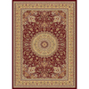 Concord Global Cyrus 5-ft 3-in x 7-ft 3-in Rectangular Red Floral Area Rug