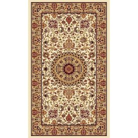 Display product reviews for Ecklar Cream Rectangular Indoor Woven Oriental Area  Rug (Common: 2