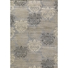 Concord Global Glam Gray Rectangular Indoor Woven Area Rug (Common: 8 x 11; Actual: 105-in W x 126-in L x 8.75-ft Dia)