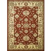 Concord Global 6-ft 7-in x 9-ft 6-in Red Hampton Area Rug