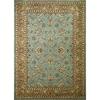 Concord Global Hampton Blue Rectangular Indoor Woven Oriental Area Rug (Common: 3 x 5; Actual: 39-in W x 55-in L x 3.25-ft Dia)