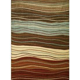 Concord Global Hampton Multicolorcolor Rectangular Indoor Woven Area Rug (Common: 7 x 10; Actual: 79-in W x 114-in L x 6.58-ft Dia)