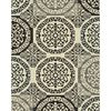 Style Selections Gabany Black Rectangular Indoor Woven Area Rug (Common: 8 x 10; Actual: 94-in W x 118-in L x 7.83-ft Dia)