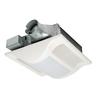 Panasonic 1.3 Sones 80-CFM White Bathroom Fan with Light ENERGY STAR