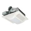 Panasonic 1.5-Sone 100-CFM White Bathroom Fan Incandescent with Light ENERGY STAR