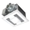 Panasonic 0.5-Sone 110-CFM White Bathroom Fan with Light ENERGY STAR