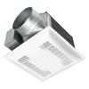 Panasonic 0.9-Sone 150-CFM White Bathroom Fan with Light ENERGY STAR