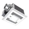 Panasonic 0.4-Sone 110-CFM White Bathroom Fan with Light ENERGY STAR