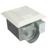 Panasonic 0.6-Sone 150-CFM White Bathroom Fan with Light ENERGY STAR