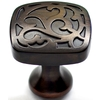 allen + roth 1-1/4-in Aged Bronze Round Cabinet Knob