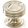 allen + roth 1-1/4-in Satin Nickel Round Cabinet Knob