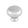 Style Selections Chrome Mushroom Cabinet Knob