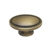 allen + roth 1-1/2-in Aged Brass Oval Cabinet Knob
