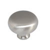 Style Selections Brushed-Satin Nickel Round Cabinet Knob