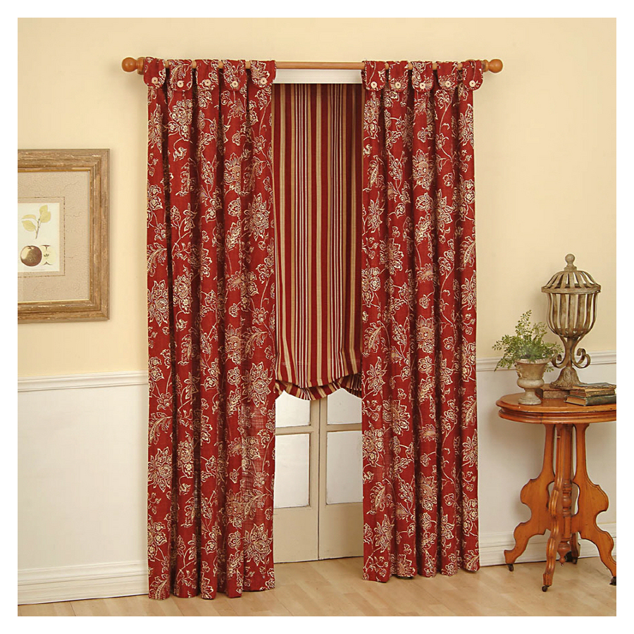 Waverly Curtains At Lowes Fireplace Curtains at Lo
