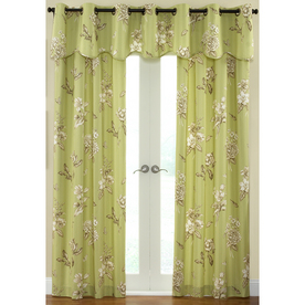 "Waverly 84""L Juniper Curtain Panel"