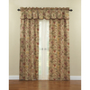 Waverly Imperial Dress 84-in L Floral Antique Rod Pocket Window Curtain Panel