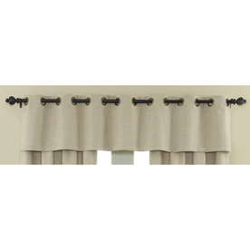 Shop Waverly 16 In L Cream Home Classics Tailored Valance At