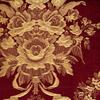 Waverly Home Classics 15-in Merlot Cotton Rod Pocket Valance