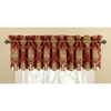 Waverly 15-in L Merlot Home Classics Box pleat Valance
