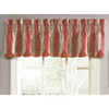 Waverly 15-in L Crimson Home Classics Box pleat Valance