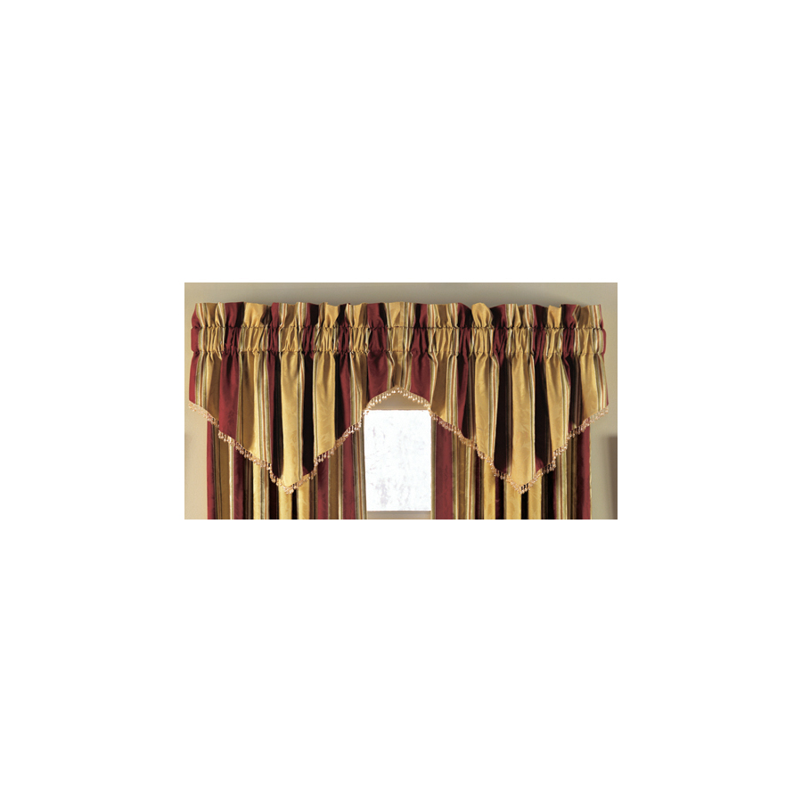 Shop Waverly 50 In L Antique Gold Home Classics Ascot Valance At