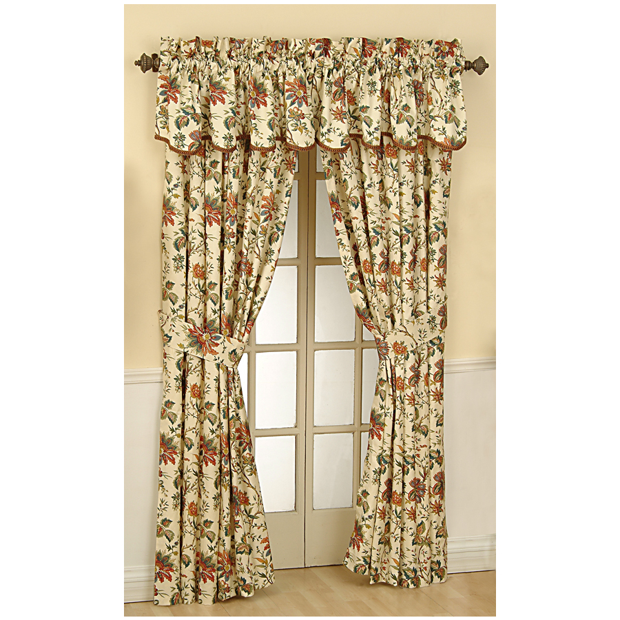 Waverly Curtains At Lowes Curtains Rods at Lowe's