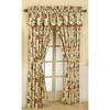 Waverly Felicite 84-in L Floral Back Tab Window Curtain Panel