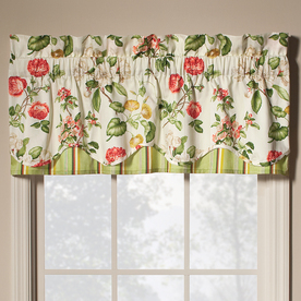Fixed Length Curtain Rod Waverly Toile Curtains