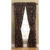 Waverly 84-in L Noir Felicite Curtain Panel