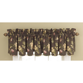 Shop Waverly 15 In L Espresso Home Classics Scalloped Valance At