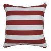 PARASOL 20-in W x 20-in L Garnet Square Accent Pillow