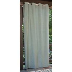 allen + roth 108-in L Aqua Patio Curtains Outdoor Window Curtain Panel
