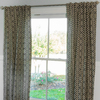 Waverly Waverly Home Classics 84-in Onyx Cotton Back Tab Single Curtain Panel