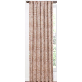 Shop Waverly Waverly Home Classics 84 In Pearl Cotton Back Tab Single Curtain Panel At