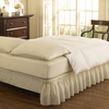 Easy Fit Ivory Queen/King 15-in Bed Skirt