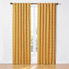 Waverly 84-in L Light Filtering Geometric Back Tab Window Curtain Panel
