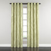 Waverly Grantham Plaid 84-in Grommet Light Filtering Single Curtain Panel