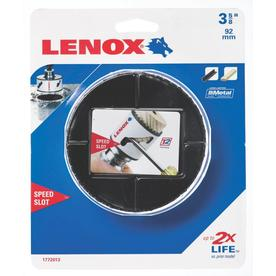 LENOX 3-5/8-in Bi-Metal Non-Arbored Hole Saw