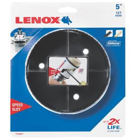 LENOX 5-in Bi-Metal Non-Arbored Hole Saw