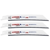 LENOX 3-Pack 6-in 18-TPI Bi-Metal Reciprocating Saw Blades