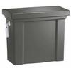 KOHLER Tresham Thundre Gray 1.28-GPF (4.85-LPF) 12 Rough-In Single-Flush High-Efficiency Toilet Tank