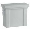 KOHLER Tresham Ice Gray 1.28-GPF (4.85-LPF) 12 Rough-In Single-Flush High-Efficiency Toilet Tank