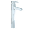 KOHLER Singulier Polished Chrome 1-Handle Single Hole WaterSense Bathroom Sink Faucet (Drain Included)